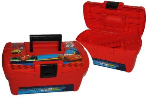 Cars II : 2 tlg. Werkzeugkoffer groß SPIELZEUGTRUHE