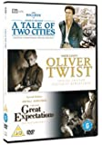 Classic Films Triple - Great Expectations/Oliver Twist/A Tale of Two Cities [Import anglais]