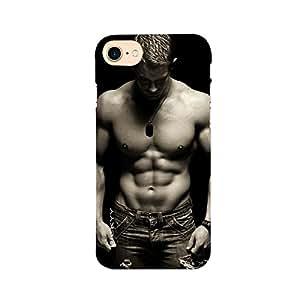 RICKYY _ip7_1070 Printed matte designer Body bullder app1 case for Apple iPhone 7