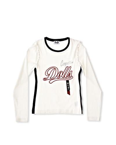 D&G Camiseta Manga Larga Ysabelle Blanco