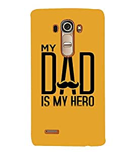 Vizagbeats My dad is my hero Back Case Cover for LG G4::LG G4 H815