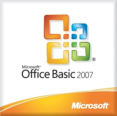 Microsoft Office Basic 2007 Medialess License Kit for System Builders - 1 pack [LICENSE ONLY] [Old Version]