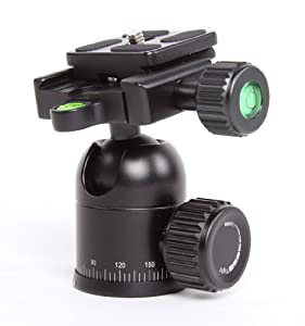 P&C Compact Tripod Ball Head [BULK PACKAGING] -Supports 6lbs.-