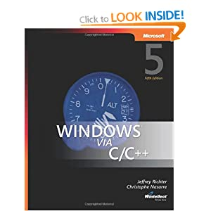 Windows via C/C++ 5th Edition (PRO-Developer)