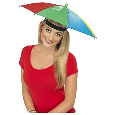 Smiffy's Umbrella Hat - Multi-Colour