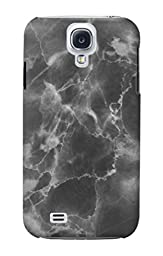 R2526 Black Marble Graphic Printed Case Cover For Samsung Galaxy S4
