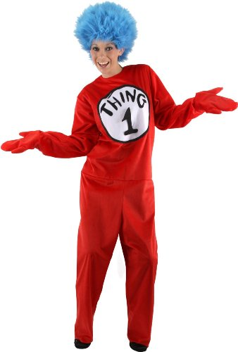 Adult Seuss THING DLX (1 Costume)