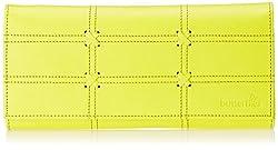 Butterflies Womens Wallet (Yellow) (BNS 2205)
