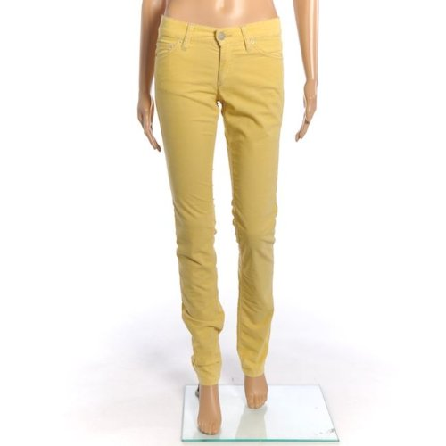 isabel-marant-trousers-yellow-corduroy-skinny-jeans-size-34-uk-6-sw-435