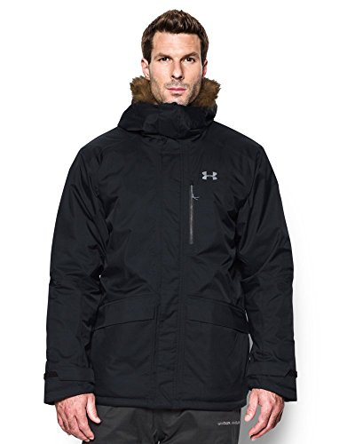 Under Armour Men's ColdGear Reactor Voltage Jacket, Black (001), Large