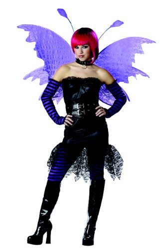 Purple Goth Rockin Teen Fairy Costume