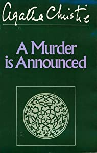 Cover of &quot;A Murder Is Announced (Winterbr...