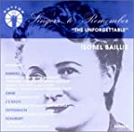 The Unforgettable. Isobel Baillie