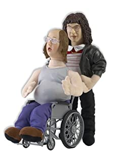 """Little Britain - Lou and Andy (double) 12"""" Talking Plush"""