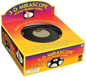 Deluxe 3-D Mirascope Hologram Optical Illusion