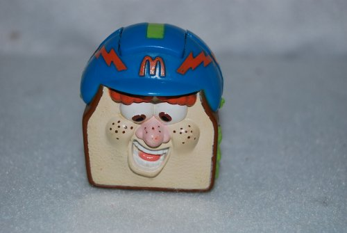 Vintage 1993 McDonalds Happy Meal Transformer Food Toy - Sandwich