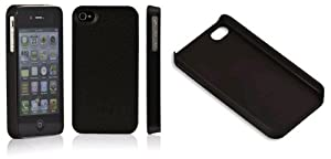 Radiation Reducing Case for iPhone 4 & iPhone 4S (Black Leather)