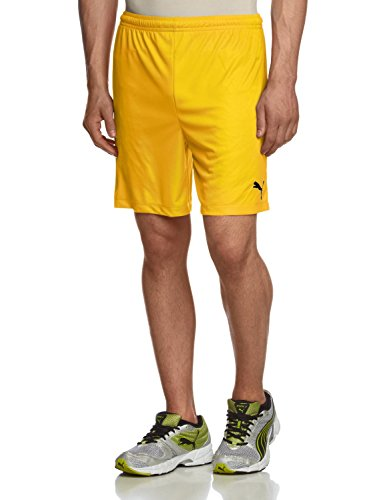 Puma Teamwear Velize Mens Training Shorts Yellow Size 3XL