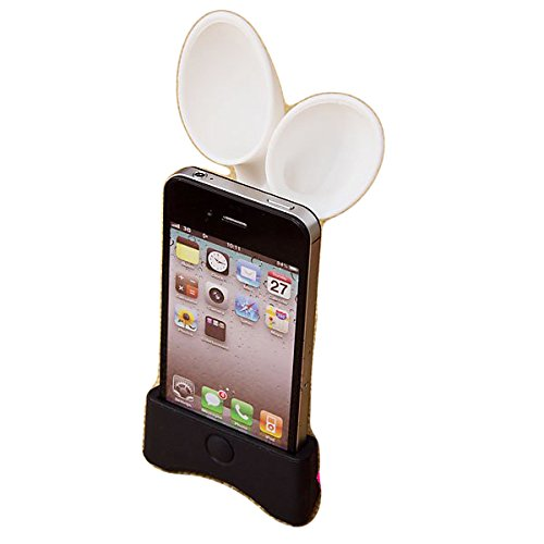 GeekGoodies-Rabbit-Horn-Wireless-Mobile-Speaker-(For-Apple)