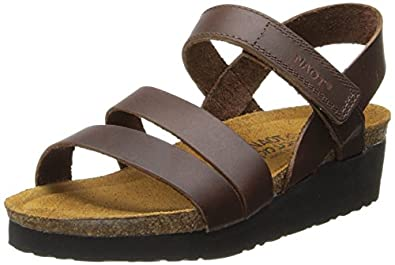 Naot Women's Kayla Wedge Sandal,Buffalo Leather,38 EU/6.5-7 M US