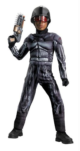 Costumes For All Occasions Dg20911K Exo Swat Classic Muscle 7-8