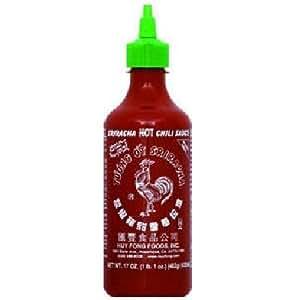 Sriracha Hot Chili Sauce Huy Fong 17oz