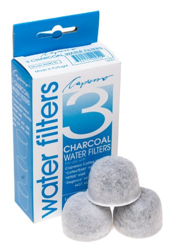 Capresso 4440.90 3-Pack Charcoal Water Filters front-510951