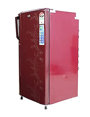 Haier HRD-2015CRO Direct-cool Single-door Refrigerator (181 Ltrs, 4 Star Rating, Red Orchid)