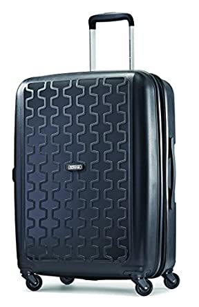 American Tourister Duralite 360 Spinner 24 Inch Expandable, Black, One Size