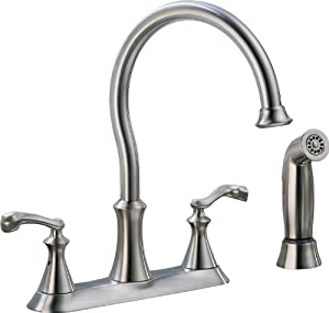 Delta Lf Ss Vessona Two Handle Kitchen Faucet