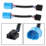 9007 Male to H4 Female Adapter for Hummer H2 Headlight