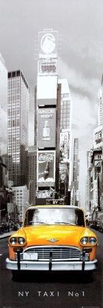 1art1 43453 poster de porte new york taxi no 1...