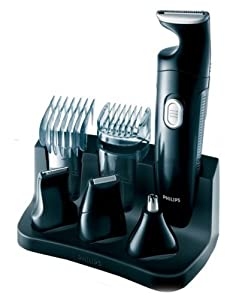 philips mens beard hair clipper trimmer cutter shaver grooming kit set qg3150 30. Black Bedroom Furniture Sets. Home Design Ideas
