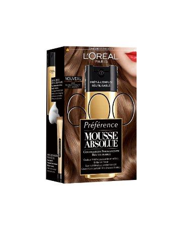 3600522656227 loral paris prfrence mousse absolue coloration blonde rutilisable 600 blond fonc eclatant - Coloration Rutilisable