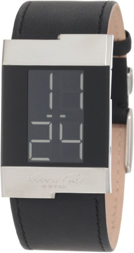 Kenneth Cole New York Men's KC1296-NY Digital Leather Watch