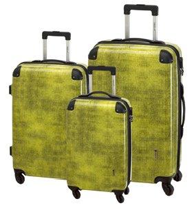 Check.In - Trolley-Koffer-Set - 3-tlg, Super-Leicht,