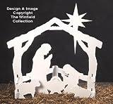 Silent Night Nativity Christmas Yard Art Woodworking Pattern
