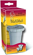 MaXiMuS Reusable Coffee Filter Set for Keurig, My K-cup Style,Replacement Filter for Keurig My K-cup Fits B30 B40 B50 B60 B70 Series, Gray
