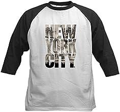 CafePress New York City Kids Baseball Jersey