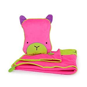 Trunki SnooziHedz Travel Pillow and Blanket - Betsy (Pink) by Magmatic