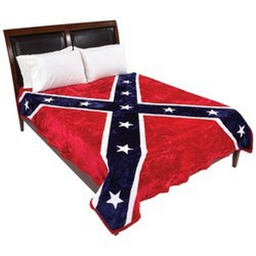 Best Buy! Wyndham House Rebel Flag Blanket