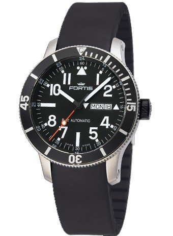 Fortis reloj hombre B-42 Official Cosmonauts Diver Day/Date Titanium automática 647.29.41 K
