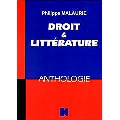 Droit et littérature : Une anthologie