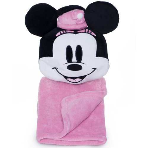 Minnie Mouse Tuck Away Buddy Blanket - 1