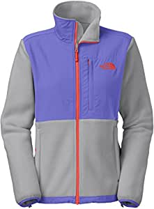The North Face Denali Jacket - Women's Recycled Mid Grey/Starry Purple 2X-Large