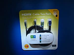 OBHC68 HDMI 2-Pack With 90 Deg Adapter