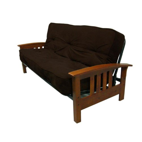about dhp 8 inch independently encased coil premium futon. Black Bedroom Furniture Sets. Home Design Ideas