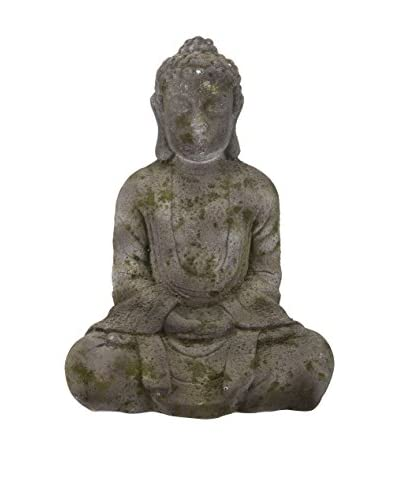 David Tutera 14.5 Sitting Buddha, Tan
