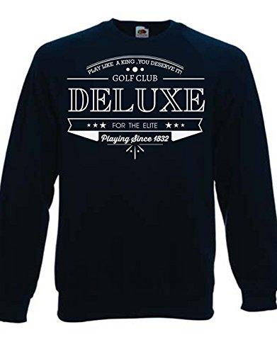 Felpa Girocollo Golf Club Deluxe - Cool - Tutte le taglie by tshirteria