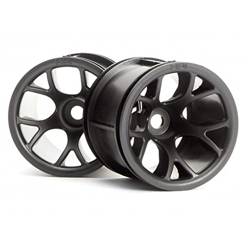 HPI Racing 2196 MT Mesh Wheel, Black - 1